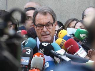 """Artur Mas: """"Yo estoy dentro de los que no hay que descartar como candidato"""""""