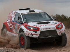 Así es el primer coche eléctrico en completar el Rally Dakar