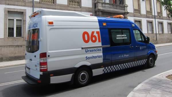 Ambulancia Del 061 Galicia
