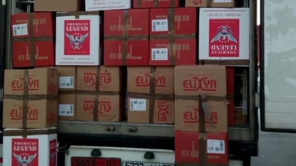 Intervenidas 11.000 cajetillas de tabaco de contrabando