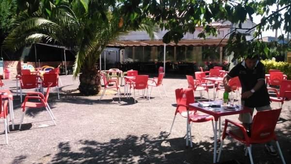 Restaurante, sector servicios, bar, autónomo