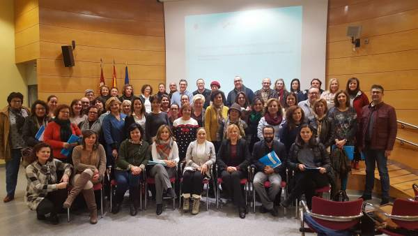 Foto/ Reunión De Violante Tomás Con Los Concejales De Servicios Sociales