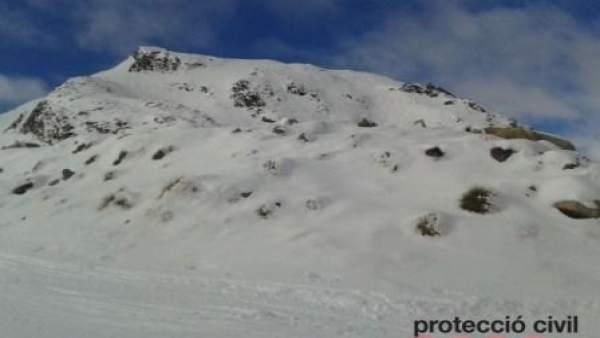 Nieve en Catalunya