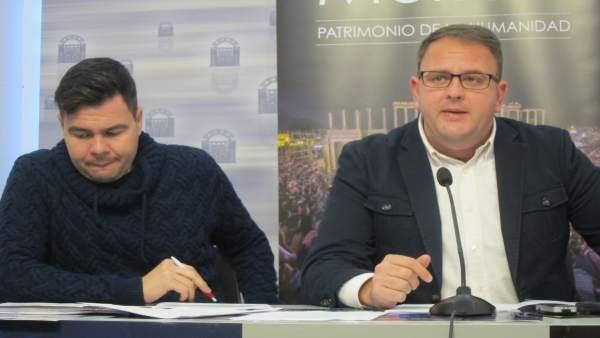 Osuna y Vadillo, en rueda de prensa
