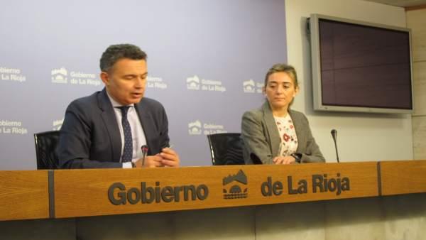 Escobar y Maiso en comparecencia de prensa