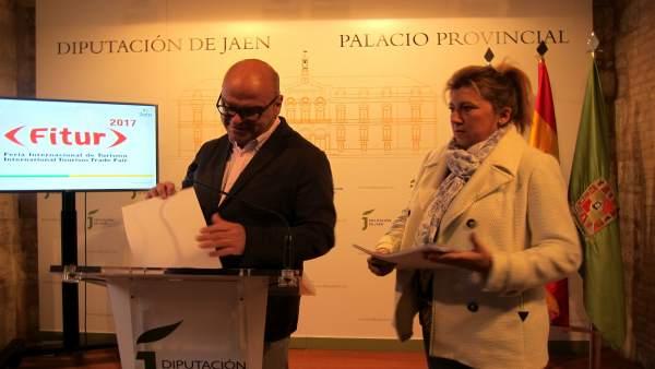 Presentación de la oferta de Jaén en Fitur 2017.