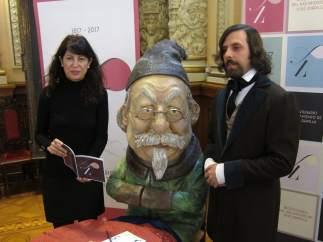Ana Redondo en la presentación de la programación del Bicentenario de José Zorrilla