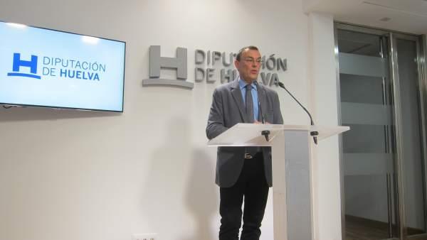 Presidente de la Diputación de Huelva y Patronato de Turismo, Ignacio Caraballo.
