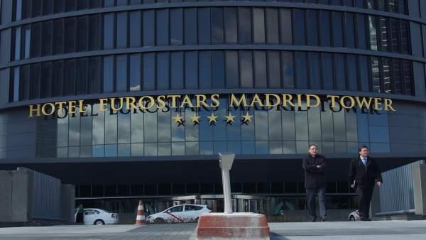 Hotel eurostars madrid tower