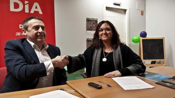 Presentación del acuerdo para el envío de productos a pueblos de Burgos
