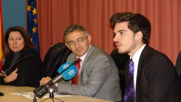 El nuevo delegado del Caruh de la UHU, Cristóbal Romero.