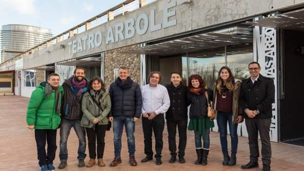 El programa 'La Escuela a Escena' se ha presentado este lunes en Arbolé