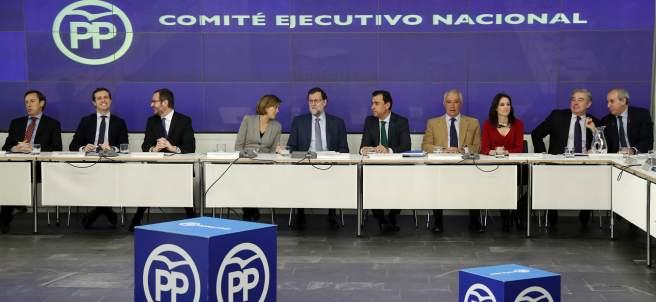 Reunión del Comité Ejecutivo Nacional del PP