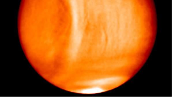 Una nave japonesa detecta enorme anomalía en Venus