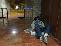 El Ayuntamiento de Barcelona aloja a 66 personas sin techo por el frío