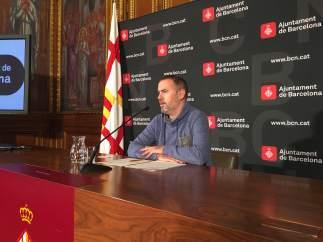 El concejal de Presidencia y Energía, Eloi Badia.