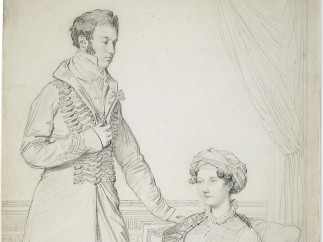 Jean Auguste Dominique Ingres, Portrait of Sir John Hay and his sister Mary, 1816