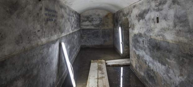 Refugio antiaéreo hallado en Bombas Gens