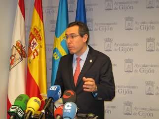 El portavoz del Gobierno local en el Ayto de Gijón, Fernando Couto (Foro).