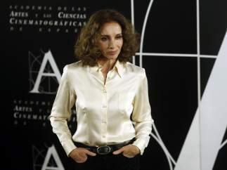 Rueda de prensa de Ana Belén, Goya de Honor 2017