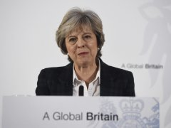 Theresa May apuesta por un 'brexit' duro
