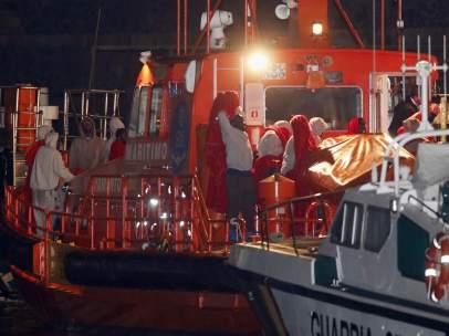 Salvamento Marítimo inmigrantes
