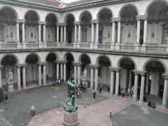 Cuadros de Pinacoteca di Brera sufrieron daños