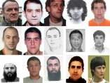 Los 15 terroristas más buscados de España.