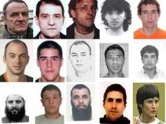 Los 15 terroristas más buscados de España