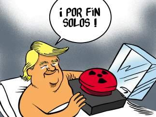 Trump y su juguete