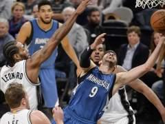 Leonard arruina una gran noche de Ricky Rubio en el Spurs - Timberwolves