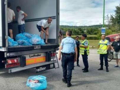 Ataques franceses a camiones españoles