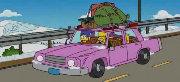 El coche de Homer Simpson.