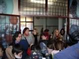 Np Y Fotos Eva Oliva En Movilización Ampa Abedul Por Falta De Calefacción En Col