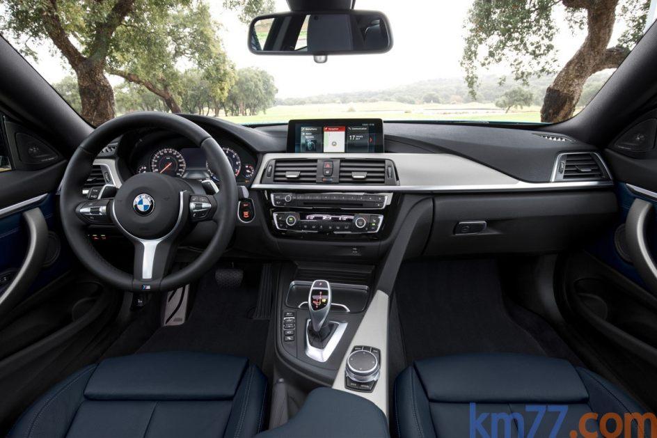 Aspecto interior del BMW Serie 4