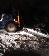 Un rescate en la nieve con final inesperado