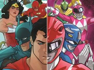 Justice League / Power Rangers #1