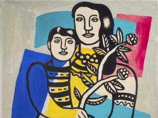 Fernand Léger (1881–1955) - Mother and Child (Mère et Enfant), c. 1949