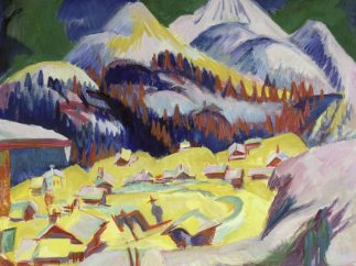 'Frauenkirch im Winter', 1918/19