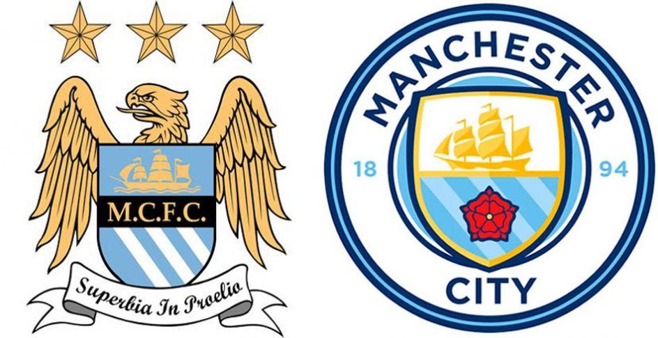 Manchester City decidió modificar su escudo