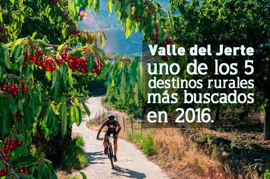 El valle del jerte c ceres quinto destino rural m s for Oficina de turismo valle del jerte