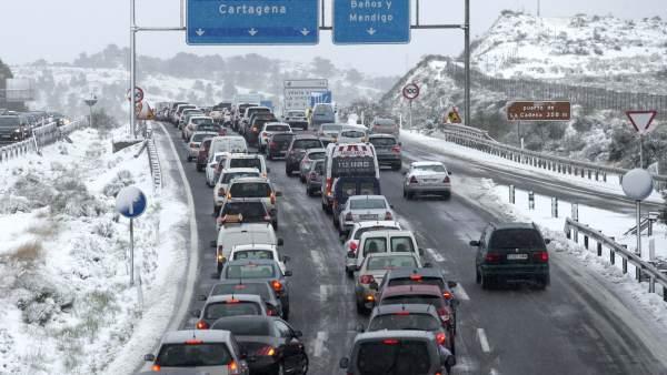 La zona cero de la ola de frío en España