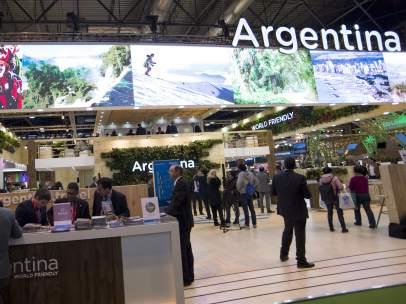Estand de Argentina en Fitur 2017