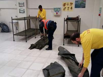 Espacio adicional en el Polígono Norte para personas sin hogar