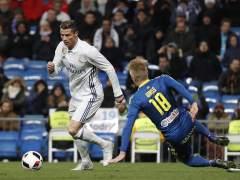 Cristiano Ronaldo y Daniel Wass