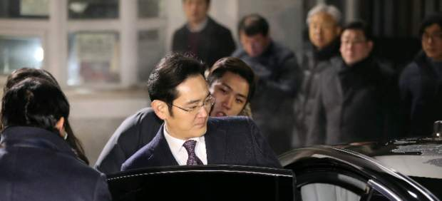 The vice-president of Samsung, Lee Jae-yong