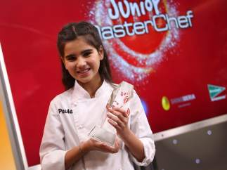 Paula, ganadora de MasterChef 4