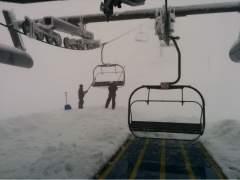 Estación invernal de Valgrande-Pajares, esquí, esquiar, nieve, Asturias