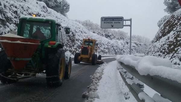 Nieve, Ronda