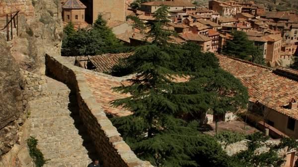 Vista de Albarracín (Teruel)